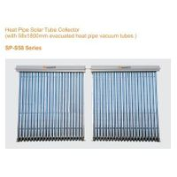 Heat Pipe Solar Tube Collector (with Evacuated Heat Pipe Vacuum Tubes)