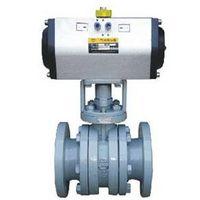 V type ceramic control ball valve thumbnail image