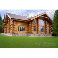 Handcrafted log home, directly from manufacturer in Siberia