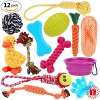 12 Pack Pet Toy Gift Set