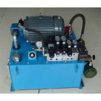 hydraulic power unit for brick machine oil pump