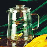 Clear Heat Resistant Borosilicate Glass Health Pot(SBS3000)