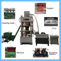 Cattle Licking Animal Salt Mineral Block Hydraulic Making Machine thumbnail image