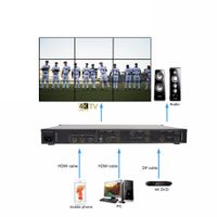 HDMI 2.0 4k@60hz video wall controller 3x4 no delay and source loss