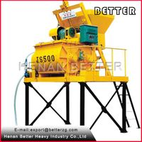 China 500L Discharging Diesel Portable Concrete Mixer With Diesel Engine thumbnail image