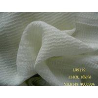 silk/wool fabric:LW9179
