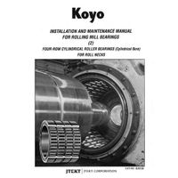 KOYO 313824A FOUR ROW cylindrical roller bearings