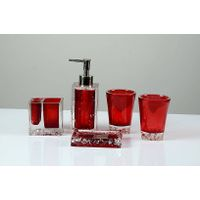 Ice - Bathroom Set (Red)