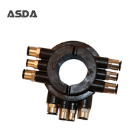 Car Tyre Changer Air Distributor Rotary Coupler Pneumatic coupling switch valve parts
