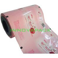Innova laminated auto-pack film stock of wet wipe/wet wipe package