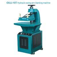 Hydraulic swing-arm blanking machine   10T
