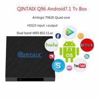 HDMI Input Dual Wifi Tuner 2.4G/5Ghz Android Box QINTAIX Q96 Digital Media Player thumbnail image