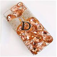 [DDPOP] INDIAN PINK RIBBON CRYSTAL SMARTPHONE CASE PHONE ACCESSARY FOR ALL PHONE BRAND