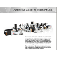 Fully automatic glass processing line
