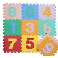 3D EVA Baby Play Puzzles Mats 16pcs/Set Colorful Waterproof Interlocking Numbers Math Floor Mats Bab thumbnail image