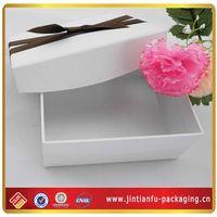Cheap Luxury White Paper Box