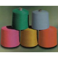 Dope-Dyed 100% Polyester Mvs Yarn