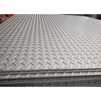 Hot Rolled Carbon Steel Checkered Plate, Q235B Checked Steel Plate/Sheet