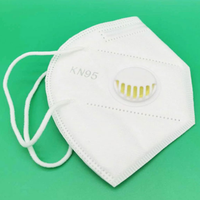 Anti Pm 2.5 Dust proof Disposable KN95 N95 Face Mask Respirator with valve thumbnail image