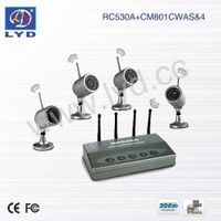 4-Ch Super DVR Waterproof IR Wireless Home Security System thumbnail image