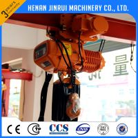 Manual Hand Lifting Electric Chain Hoist 15-25 ton
