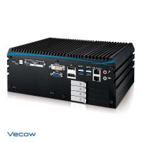 ECX-1400/1300 Series Workstation-grade Intel® Coffee Lake Expandable Fanless Embedded System