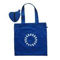 Heart shaped polyester folding bag