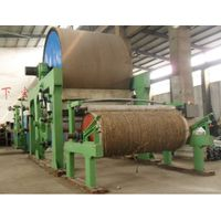 2T/D pulp and waste paper recycling jumbo roll toilet tissue paper making machine price thumbnail image