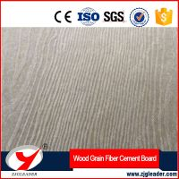 High quality wood grain fiber cement board