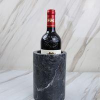 Wine bottle cooler/Reusable Marble wine cooler bottle cooler Holder