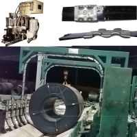 Seal Joint Type Automatic Steel Strapping Machine For The Radial Strapping Of Coils