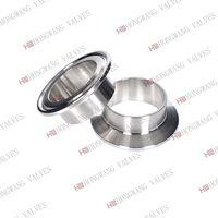 Stainless Steel Sanitary Food Grade Clamped Ferrule Pipe Fittings thumbnail image