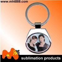 Customized sublimation metal keychain A89