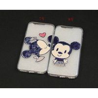 Mickey & Minnie lover couple TPU phone cases for iphone 6