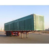 Excellent quality curtain sider semitrailer van semitrailer