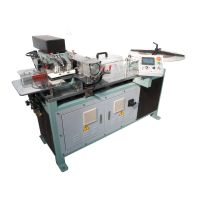 Edge protector machine for lever arch files