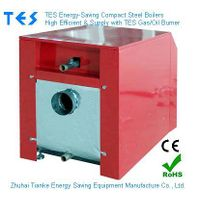 Compact Steel Boiler Gas Oil Fired Burner CE RoHS ISO 9001 approved