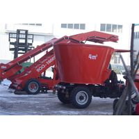 Self-propelled tmr feed mixer 4m³ for sale