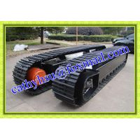 custom built steel track undercarriage crawler undercarriage
