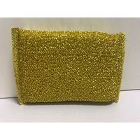High Quality Kitchen Golden Silver Sponge Dish Washing Cleaning Sponge Scouring Pad thumbnail image