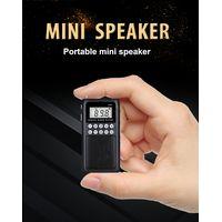Portable mini FM radio with TF card function
