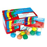 China wholesale Color Paper Smoke Balls Fireworks