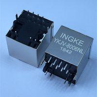 Ingke YKJV-8006NL 100% Cross JD2-0010NL Vertical RJ45 Magnetic Jack Connectors