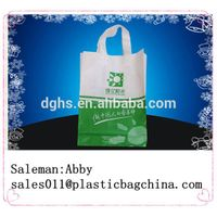 soft loop handle bag/ plastic bag