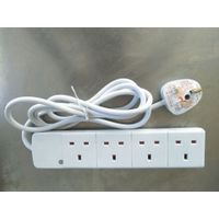 4 way UK extension socket with BS certificate