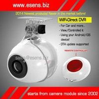 Mini Wi-Fi Camera/FHD 1,080P Car DVR, Supports OTG Update