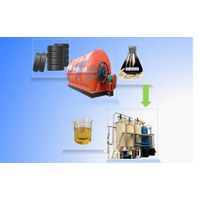 Waste oil into diesel oil refining machine