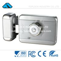 Intelligent Electric Motor Lock Rim Lock 12V with Door Access Control System thumbnail image