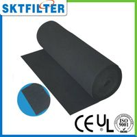 Activated carbon filter media cotton