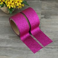 Colorful glitter tape for notebook decoration